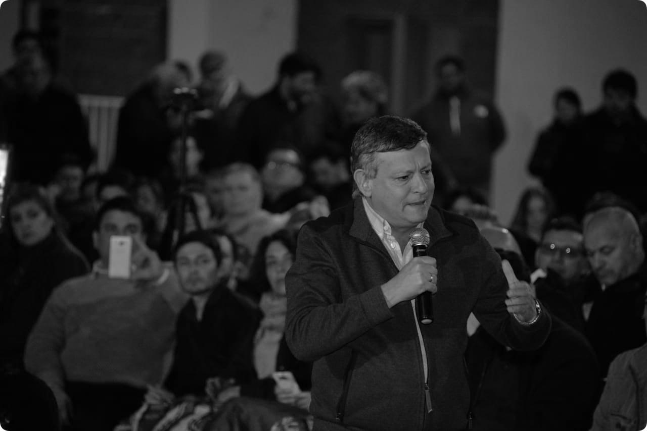 """Peppo encabezó en Sáenz Peña un encuentro de la Lista 501 Celeste y Blanca """"O"""""""