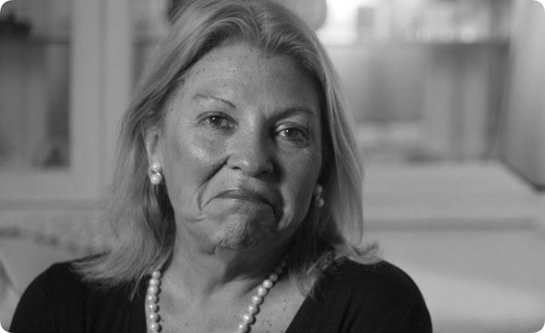 """Cristina Kirchner ya perdió, poner a Alberto Fernández fue un acto de desesperación"", dice Carrió"