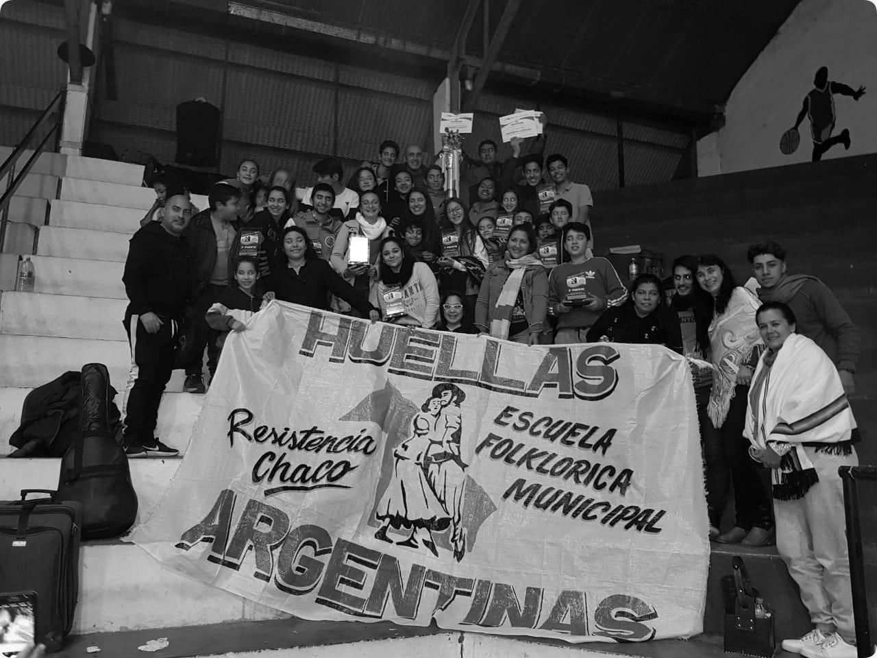 """La escuela municipal """"Huellas Argentinas"""", campeona en el certamen de la Costa"""