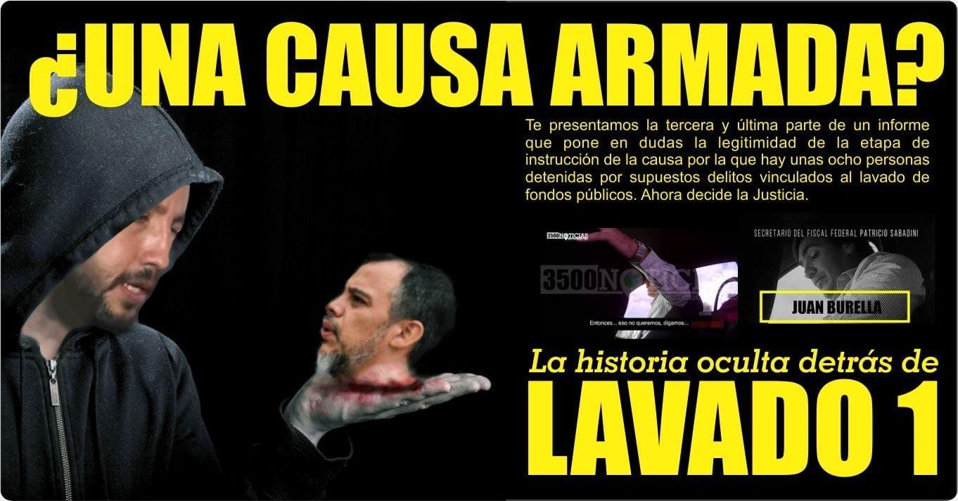 """""""Operación Lavado"""", tercera parte: ¿es o no es?"""