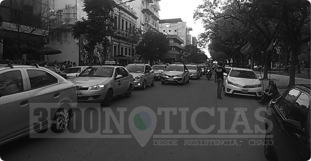 Taxistas de Resistencia se sumaron al reclamo por la aparición con vida de Lorena Romero