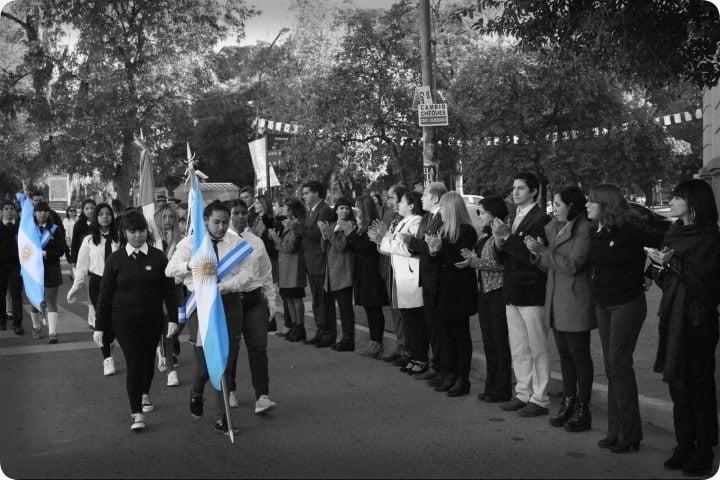 Comenzaron los festejos por el Día de la Bandera
