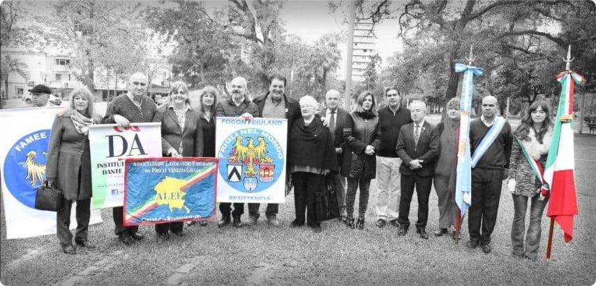 Resistencia recordó los 73 años de la República de Italia