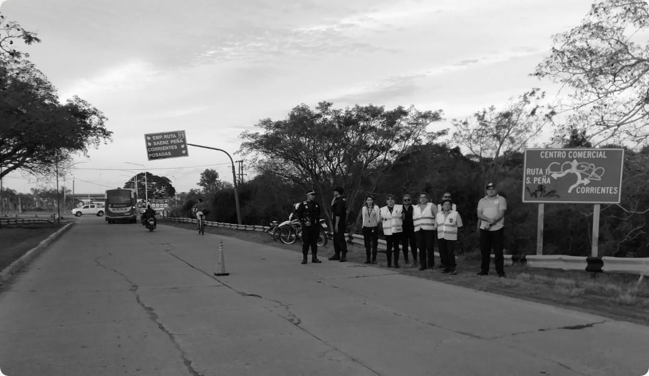 El Municipio y Caminera prohíben el ingreso sin casco al centro de Resistencia