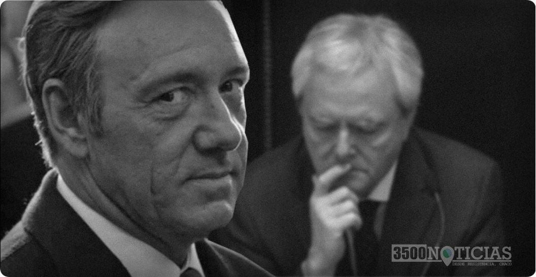 """""""Si Cristina gana en primera vuelta, me tiro del balcón"""", prometió el amigo de Frank Underwood"""
