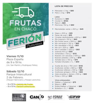 Nueva edición del Ferión Frutihortícola con la presencia de los camiones de frutas y pescados