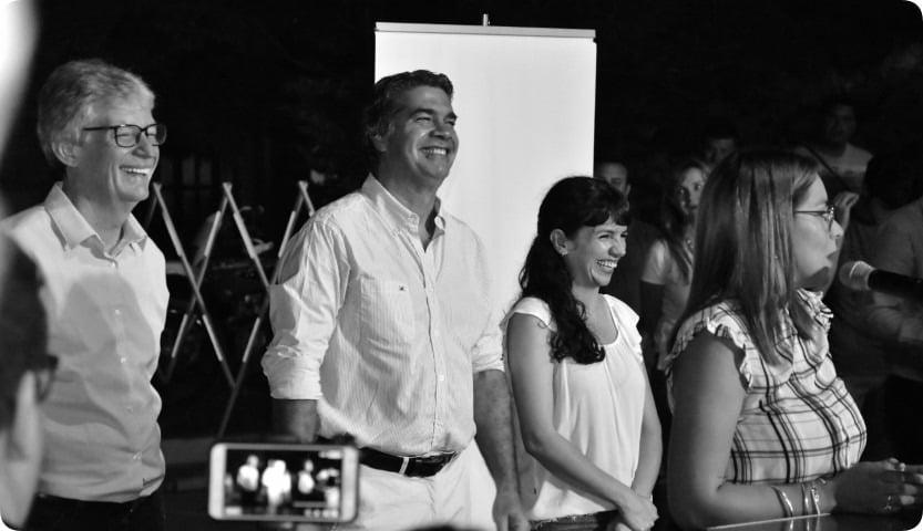 """Inauguración de pavimento y anuncios: """"Compartimos la alegría y la esperanza de los habitantes de Barranqueras"""", resaltó Sager"""
