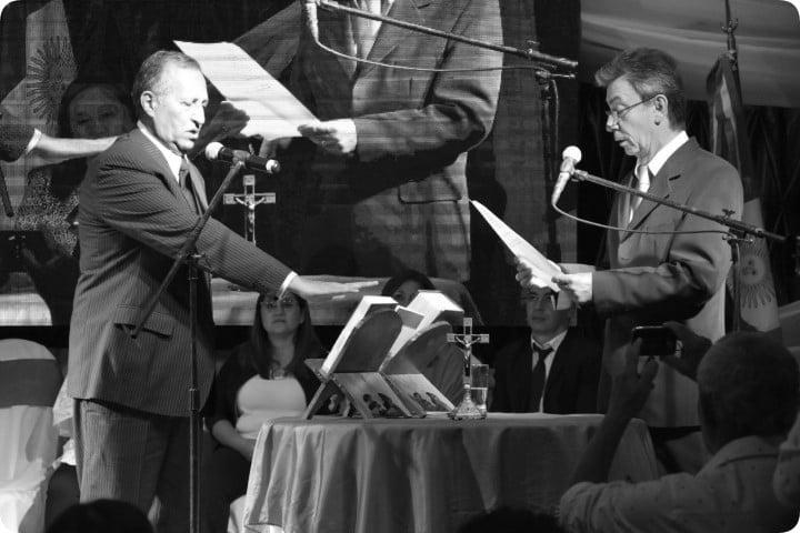 Papp asumió su segundo mandato en Villa Ángela