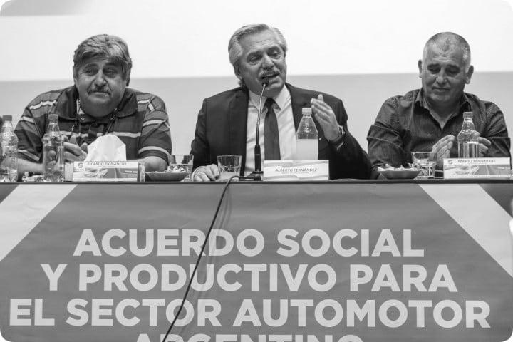 Automotrices y gremios presentaron a Alberto proyecto de ley para el desarrollo de la industria: quieren fabricar 1.8 millones de unidades en 2030