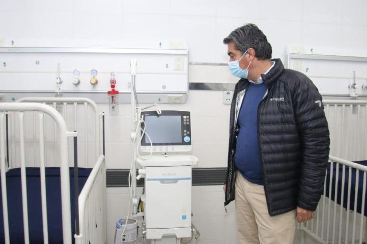 En el Hospital 4 de Junio habilitaron un sector especial para COVID-19