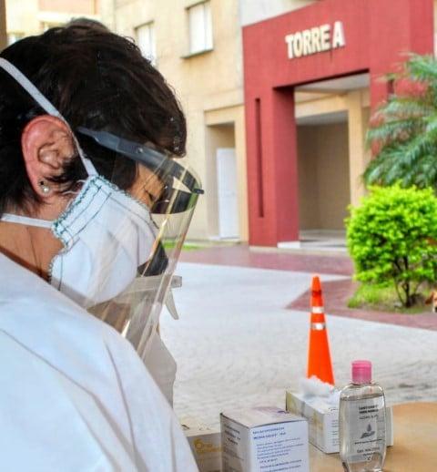 Se registraron tres casos de coronavirus en las Torres Sarmiento: instalarán allí una posta sanitaria