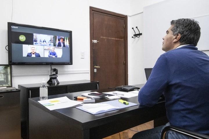 Capitanich acordó con Wado de Pedro financiamiento por 73 millones para Resistencia