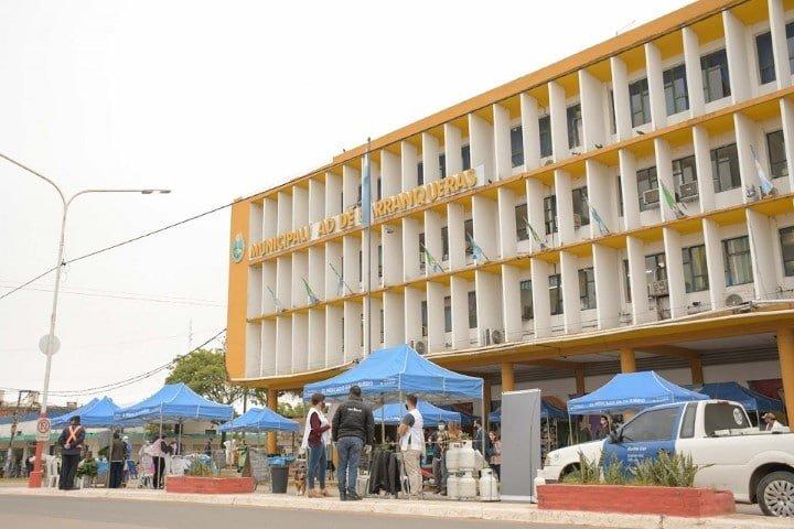 """Nuevo punto """"Vamos Nosotros"""" en la Municipalidad de Barranqueras"""