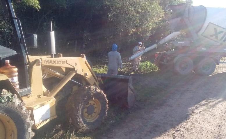 Avanzan con electrificación rural en La Escondida, Puerto Tirol, Villa Berthet, Juan José Castelli y Miraflores