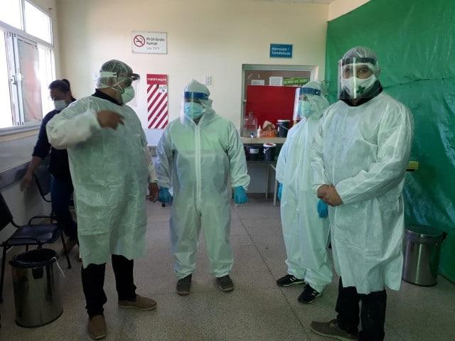 Salud realizó más de 100 hisopados en Misión Nueva Pompeya