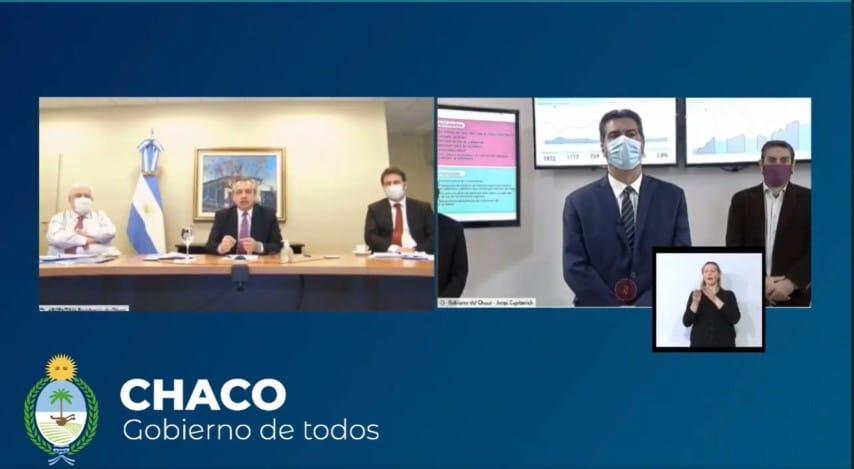 """El mensaje de Alberto Fernández para el Chaco: """"A los intendentes y a todos les pido, acompañen a Coqui"""""""