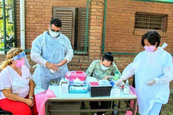 Más de 2100 personas fueron testeadas en los primeros días de la semana