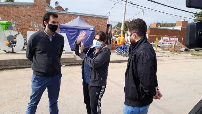Realizaron rastrillaje para detectar coronavirus en barrios de Fontana