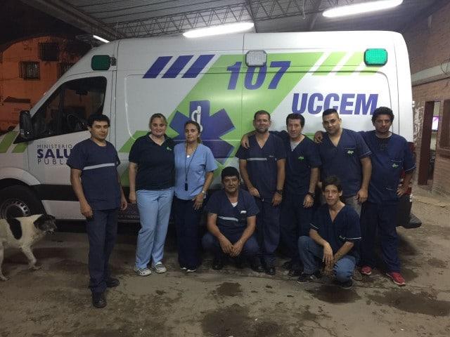 Detectaron dos casos de coronavirus positivo entre el personal de Unidad Coordinadora de Emergencias Médicas y hubo que reemplazar a todo el staff