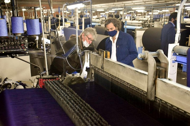 """Sager: """"La presencia de Cafiero ratifica el respaldo del Estado nacional a industrias afectadas por la pandemia"""""""