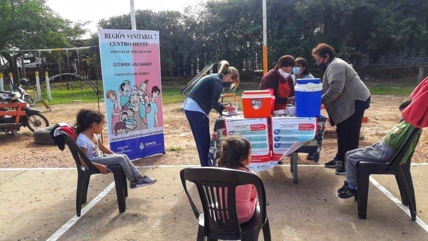 En Chaco se seguirá vacunando contra el sarampión según calendario y a quienes no acrediten dosis