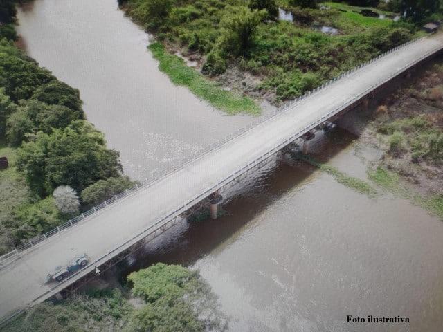 Por trabajos de mantenimiento, el lunes Vialidad Provincial cortará el tránsito en el puente de la Ruta 63 de 8 a 12 hs