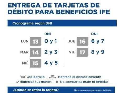 El NBCH reinició este lunes la entrega de tarjetas de débito para beneficiarios IFE