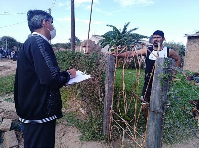 En El Sauzalito fueron tomadas 175 muestras, de las cuales son 34 los casos confirmados