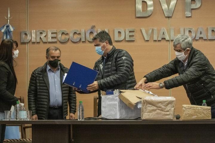 Realizaron la apertura de sobres para la licitación de las obras del acceso al puerto Las Palmas