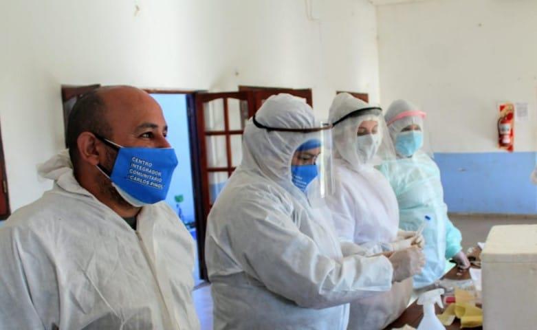 Salud entregó casi 100 mil insumos de protección para agentes sanitarios en julio