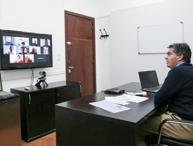Capitanich se reunió con representantes de ATE para avanzar en convenios colectivos de trabajo del sector público