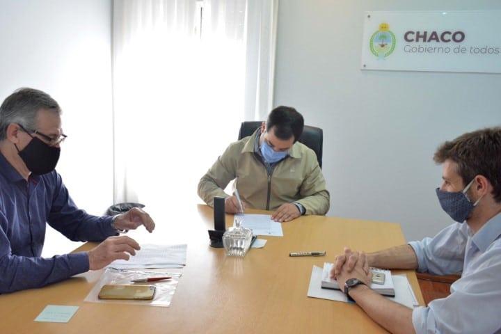 Provincia y Nación suscribieron convenio para incrementar los beneficios para la inserción laboral en empresas