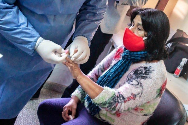 Programa Proteger: controlan pacientes diabéticos con un nuevo sistema de testeo