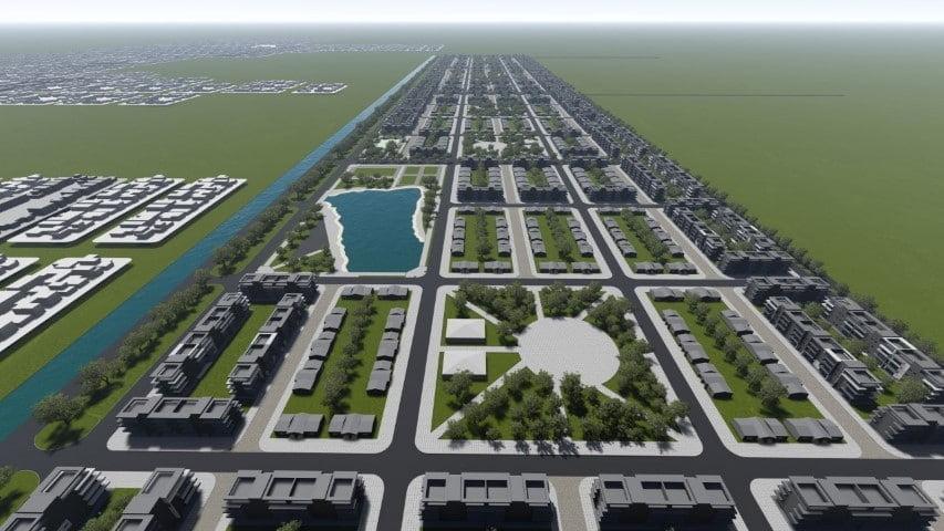 """Con inversión público-privada Capitanich quiere levantar un """"megaproyecto urbanístico"""" en las 3.956 hectáreas del ex Campo de Tiro"""