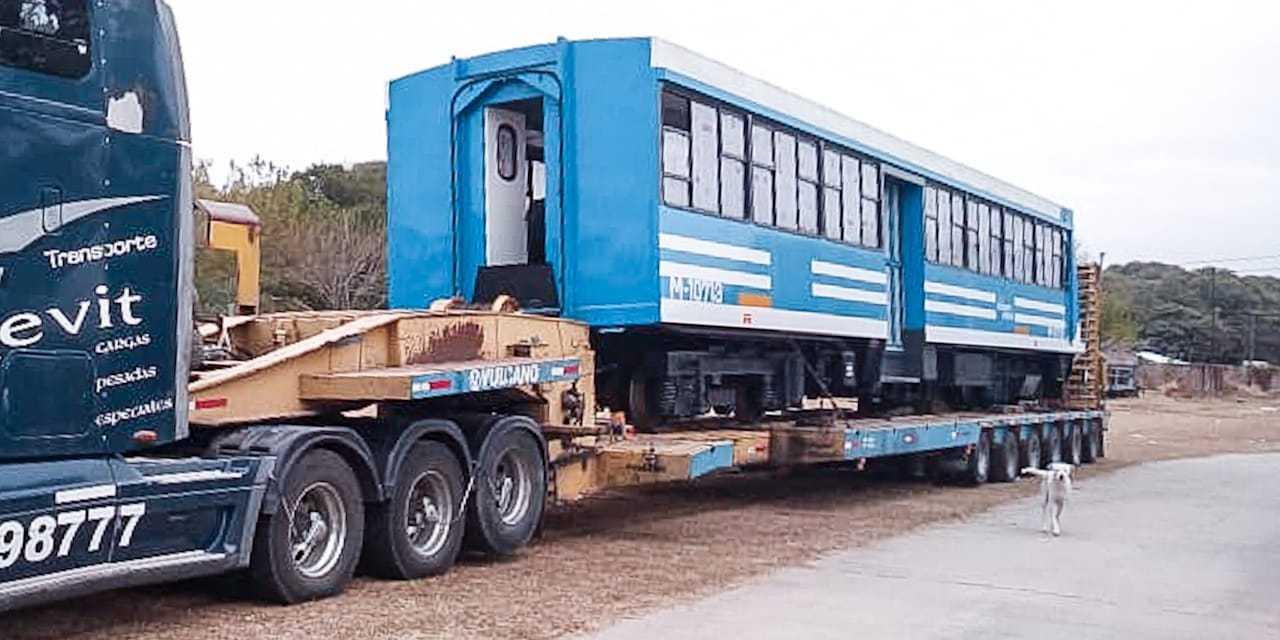 Llega un nuevo coche motor 0 Km para el tren metropolitano
