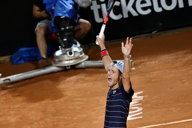 Schwartzman dio el golpe, sacó a Nadal y es semifinalista en Roma