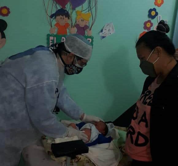 Salud realiza 70 atenciones por semana en la villa rural El Palmar, en Quitilipi
