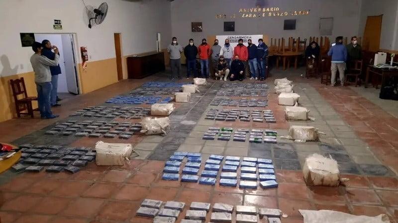 Incautan más de 380 kilos de cocaína en el Gran Rosario