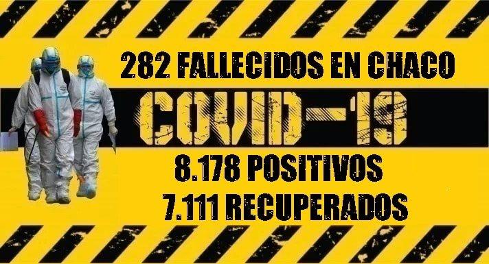 Coronavirus: fallece una mujer en Saenz Peña y se confirman 111 nuevos casos