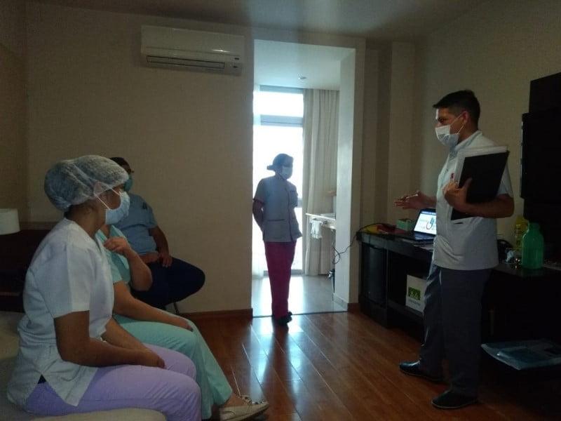 El Equipo Centinela continúa con capacitaciones y auditorías sanitarias en instituciones de salud