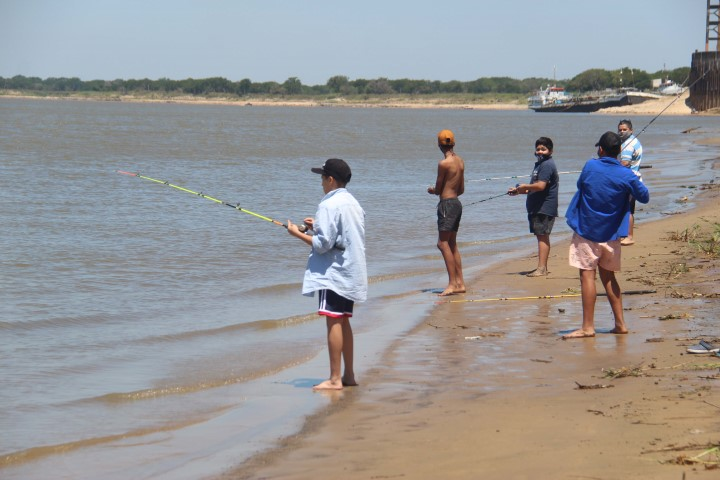 Formosa habilitó este fin de semana la pesca deportiva de costa