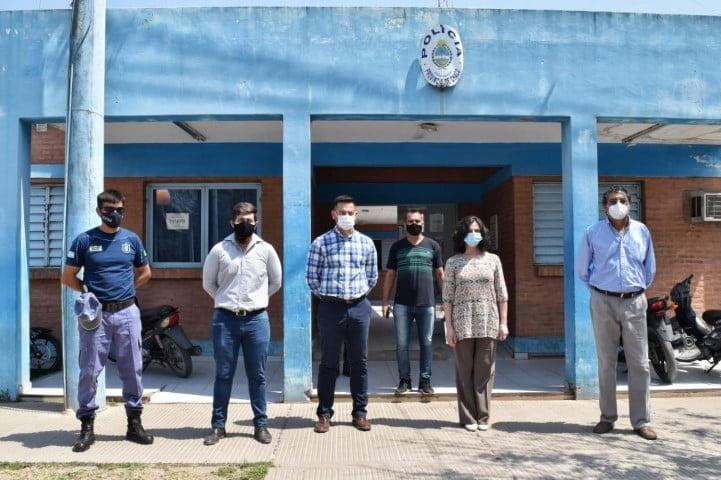 Zalazar sigue visitando comisarías de toda la provincia para avanzar en su plan de reforma