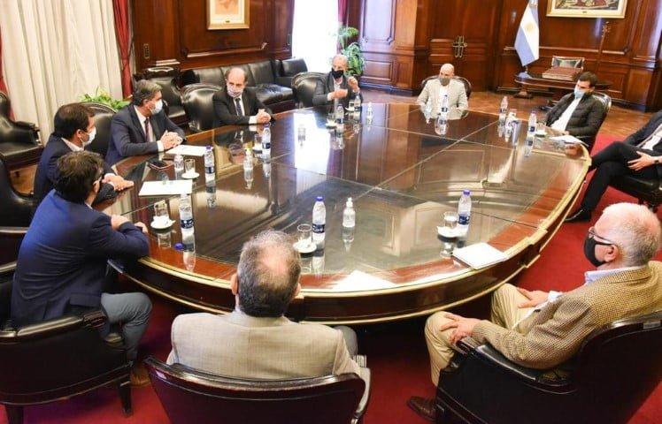 Intensa agenda de Capitanich en Buenos Aires