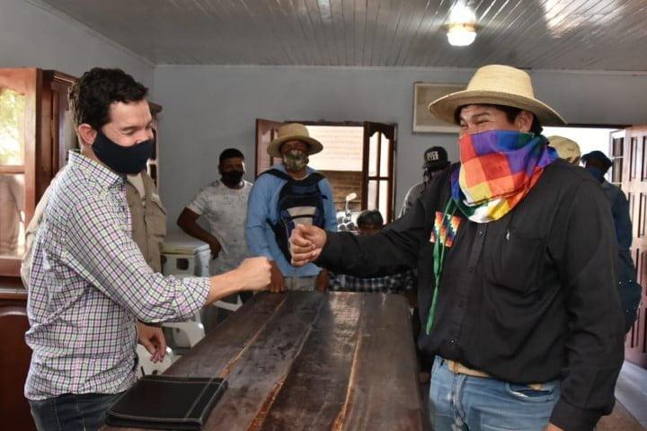 Se destrabó el conflicto y en 15 días estarán listos los 12 kilómetros de líneas eléctricas que beneficiarán a 20 familias indígenas de Miraflores