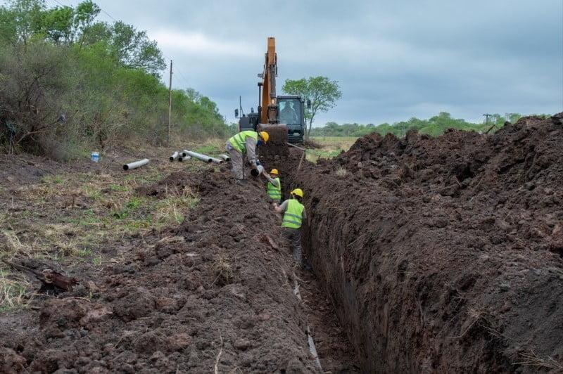 Avanzan las obras para la construcción del Acueducto La Escondida – Colonia Elisa
