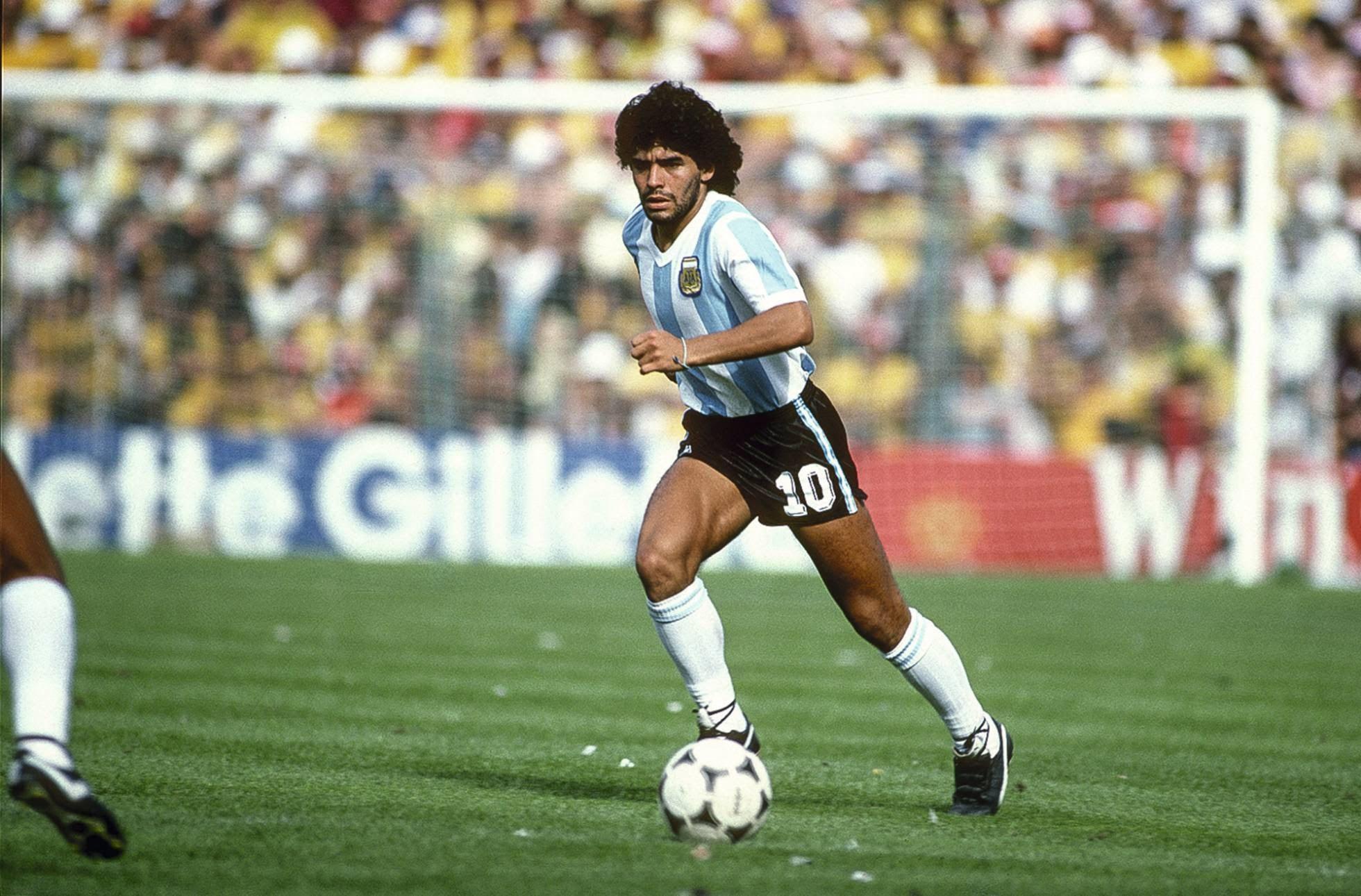Alberto saluda a Maradona por sus 60 años