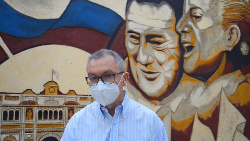 """75 años de lealtad: """"La juventud seguirá el legado de la ética de la solidaridad"""", dijo Pedrini"""