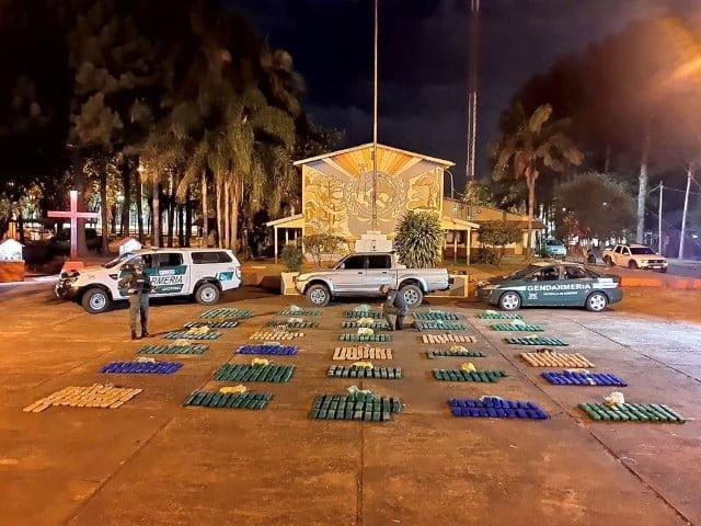 Panambí, Misiones: encuentran 407 kilos de marihuana escondidos en una camioneta