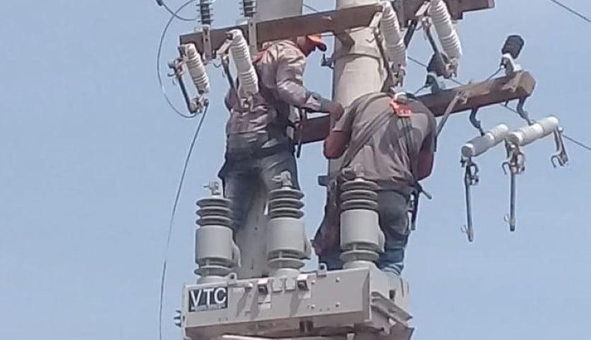 Vuelven las obras para reconectar Rincón Santa María y Puerto Bastiani: 270 kilómetros de redes de alta y extra alta tensión