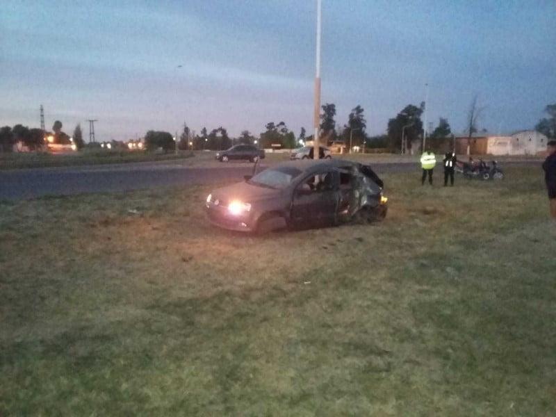 Sáenz Peña: murieron dos jóvenes en un accidente vial sobre la ruta